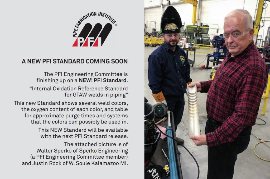 New PFI Standard